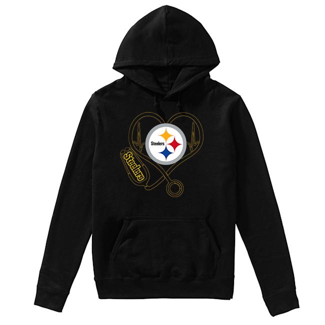 Pittsburgh Steelers Stethoscope  Unisex Hoodie