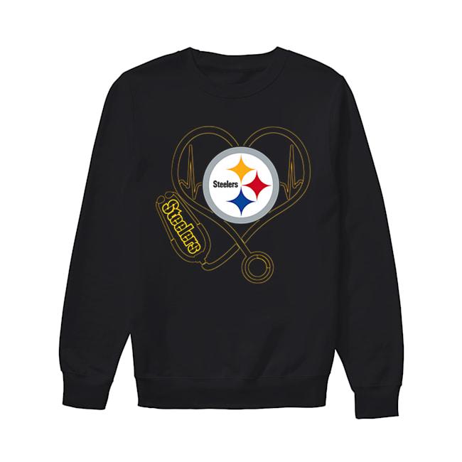 Pittsburgh Steelers Stethoscope  Unisex Sweatshirt