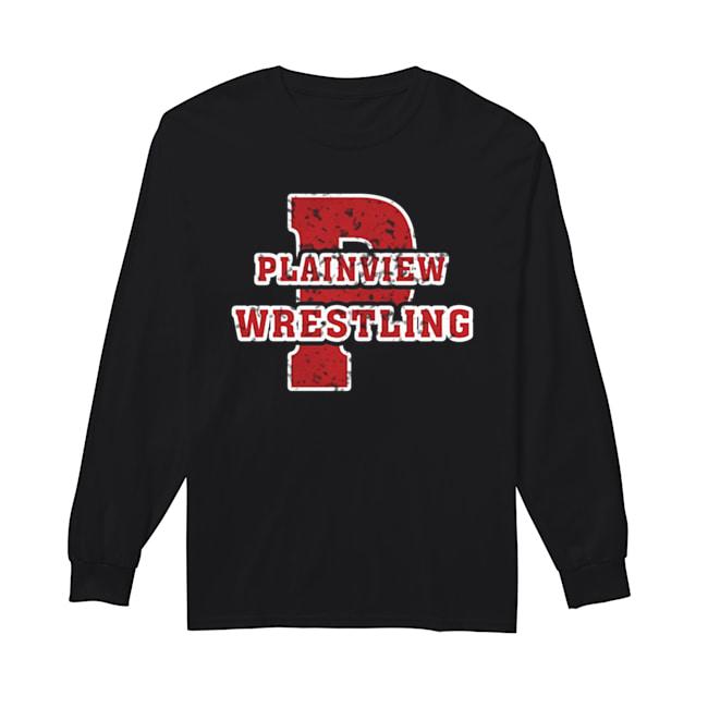 Plainview Wrestling  Long Sleeved T-shirt