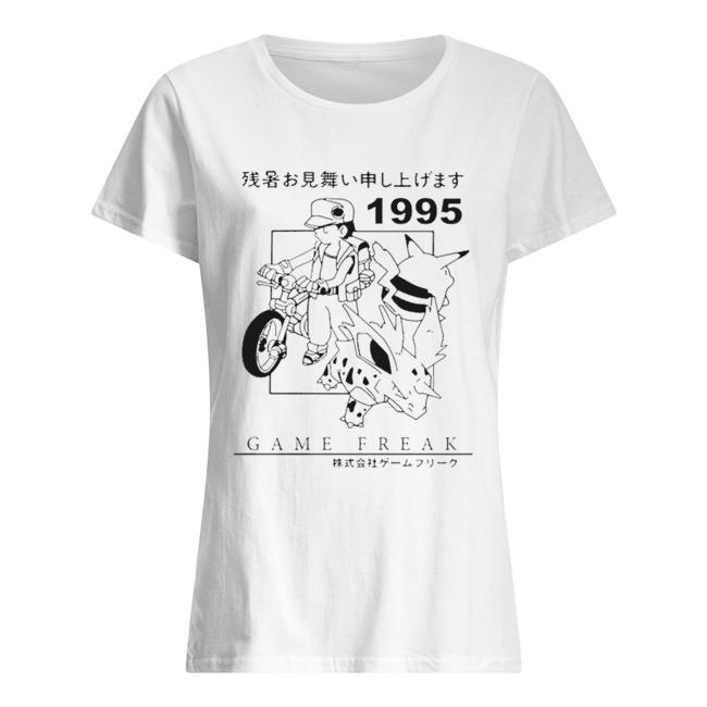 Pokemon 1995 Game freak  Classic Women's T-shirt