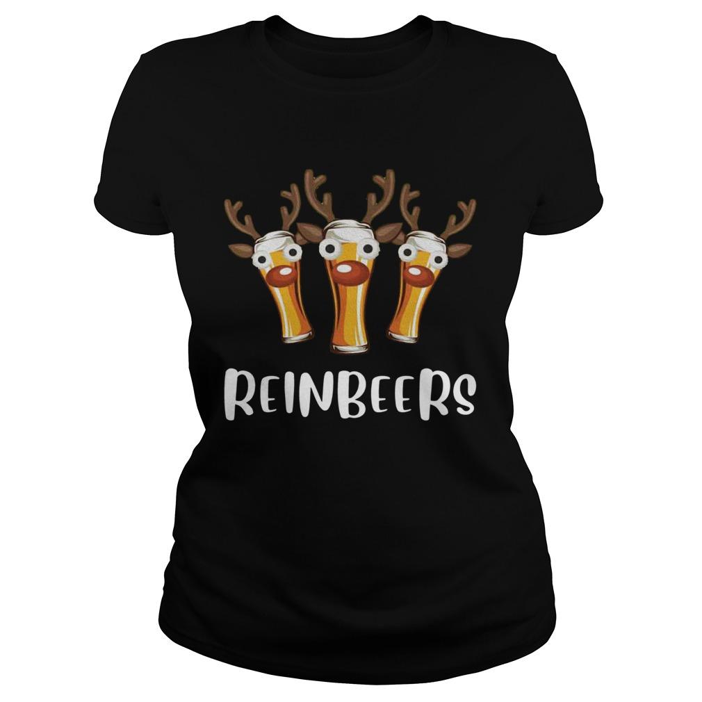 Reinbeers Funny Christmas  Classic Ladies