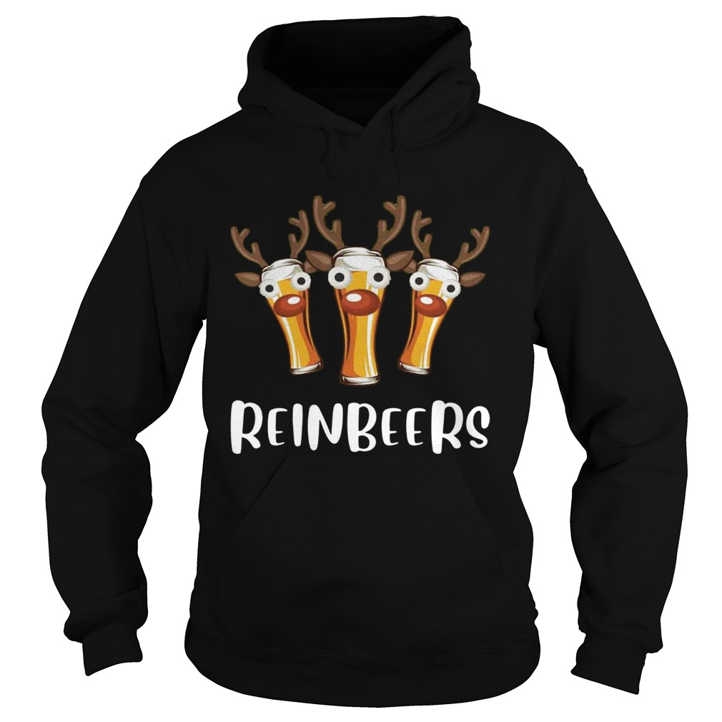 Reinbeers Funny Christmas  Hoodie