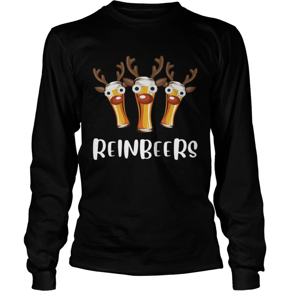 Reinbeers Funny Christmas  LongSleeve
