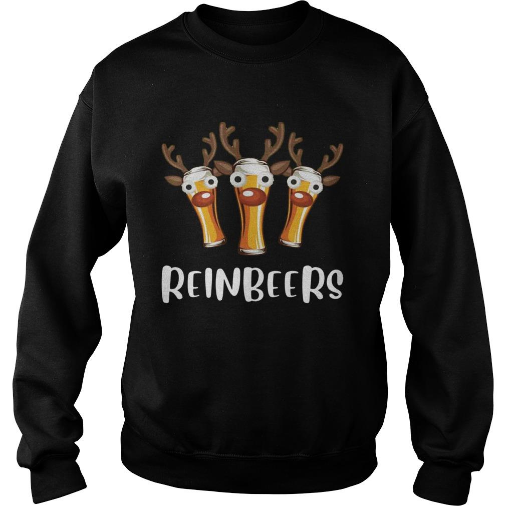 Reinbeers Funny Christmas  Sweatshirt