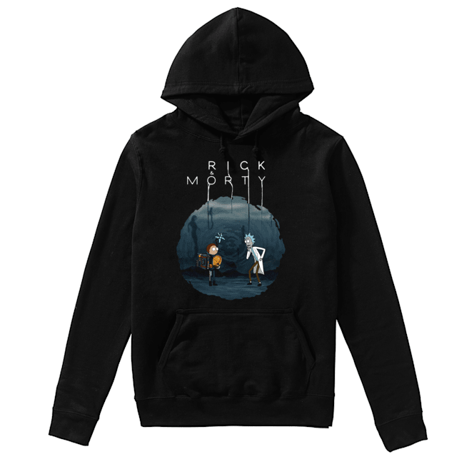 Rick and Morty Death Stranding  Unisex Hoodie