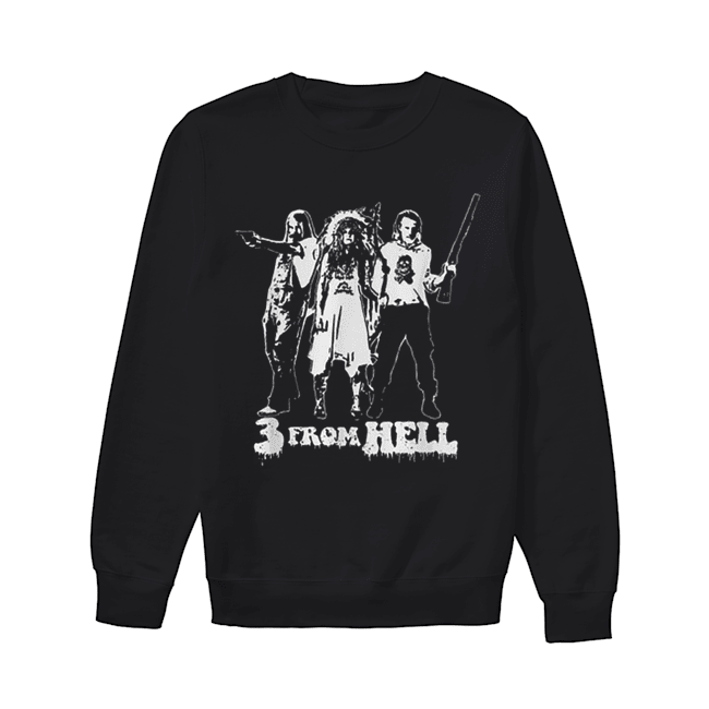 Rob Zombie 3 From Hell  Unisex Sweatshirt