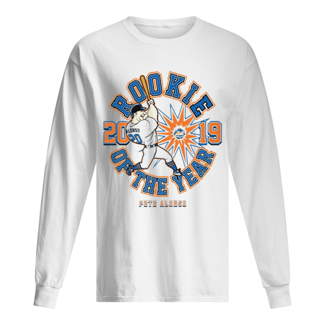 ROOKIE OF THE YEAR – PETE ALONSO  Long Sleeved T-shirt