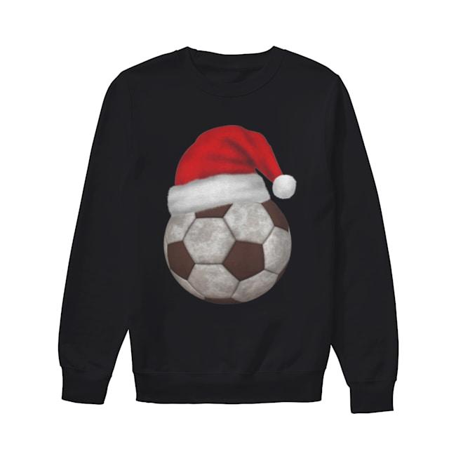 Soccer Santa Funny Merry Xmas  Unisex Sweatshirt