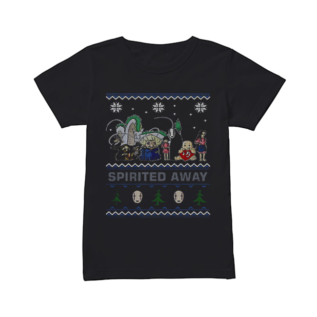 Spirited Away ugly Christmas  Classic Women's T-shirt