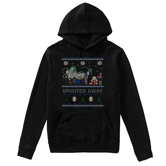 Spirited Away ugly Christmas  Unisex Hoodie