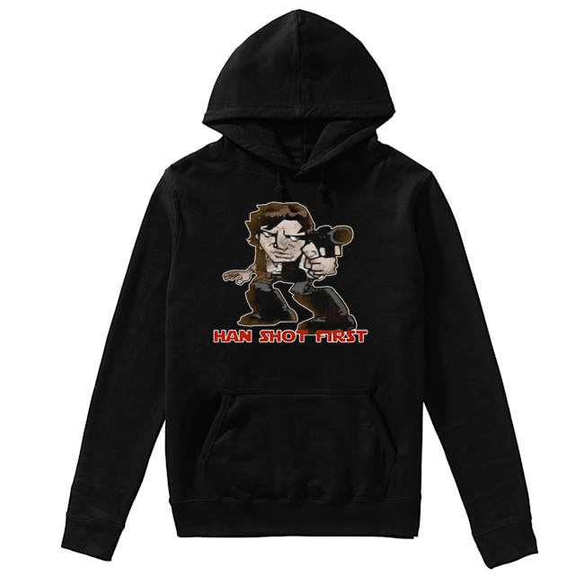 Star Wars Han Shot First  Unisex Hoodie