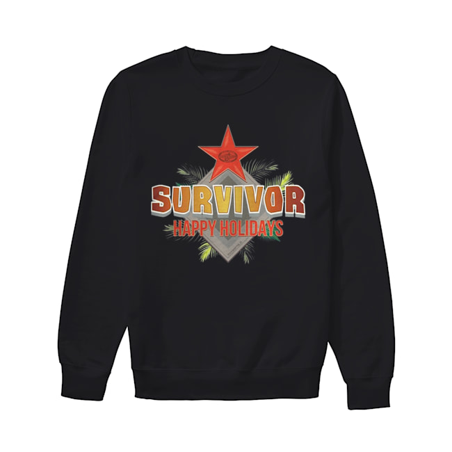 Survivor Happy Holidays Christmas  Unisex Sweatshirt
