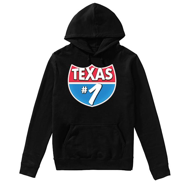 Texas Number 1  Unisex Hoodie