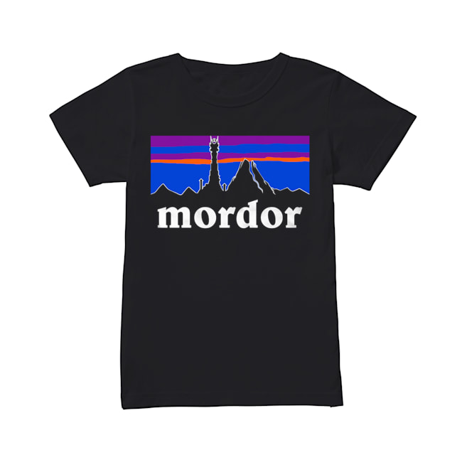 The Lord Of The Rings Mordor Patagonia  Classic Women's T-shirt