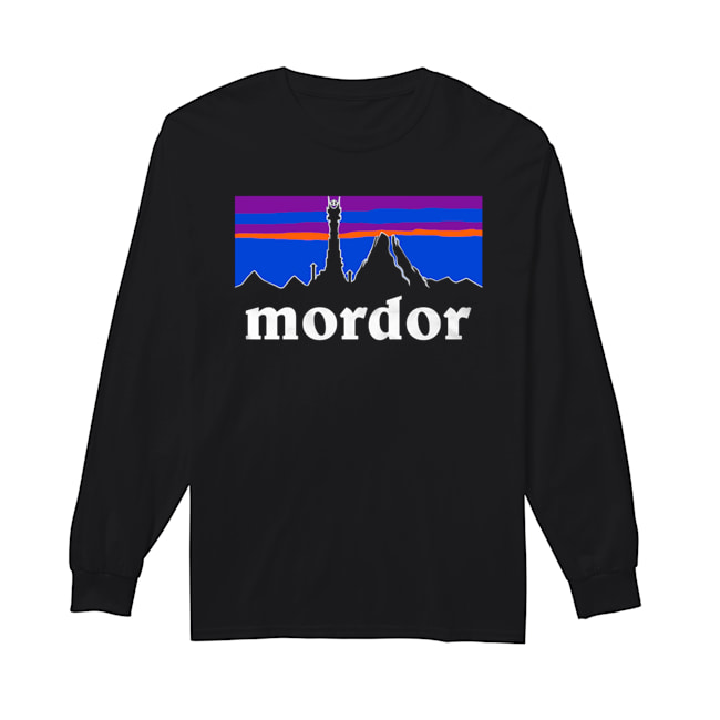 The Lord Of The Rings Mordor Patagonia  Long Sleeved T-shirt