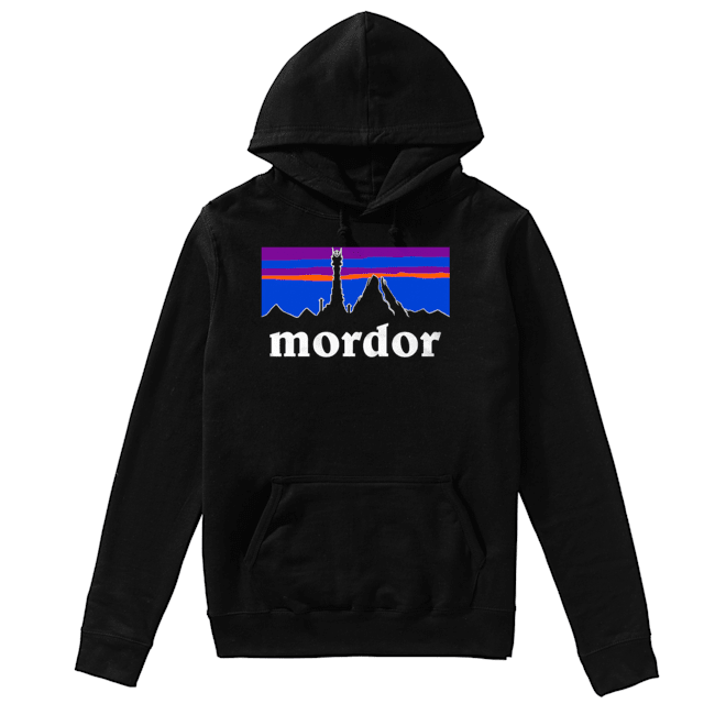 The Lord Of The Rings Mordor Patagonia  Unisex Hoodie