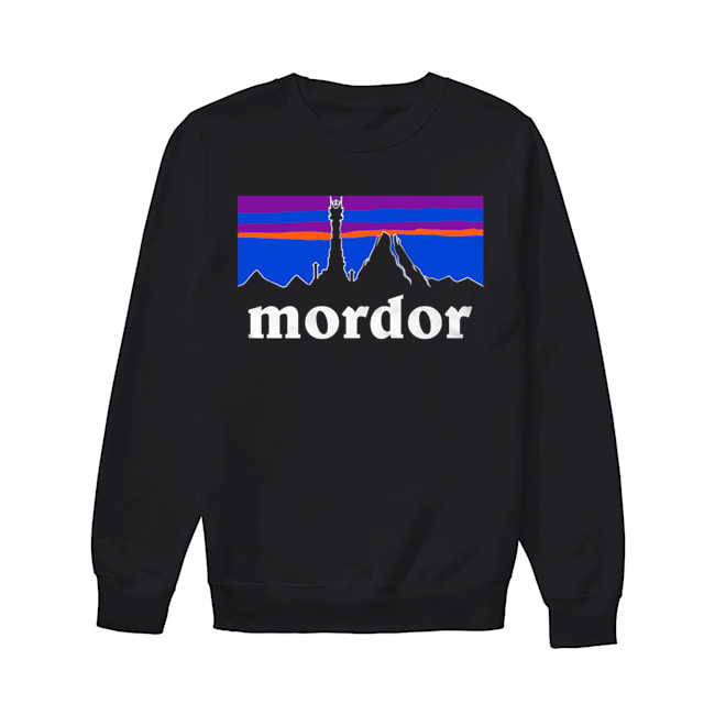 The Lord Of The Rings Mordor Patagonia  Unisex Sweatshirt