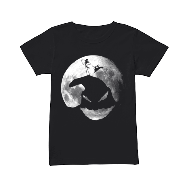 The Nightmare Before Christmas Jack Skellington Oogie Boogie  Classic Women's T-shirt