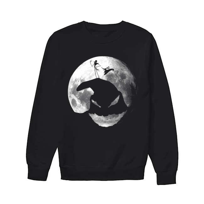 The Nightmare Before Christmas Jack Skellington Oogie Boogie  Unisex Sweatshirt