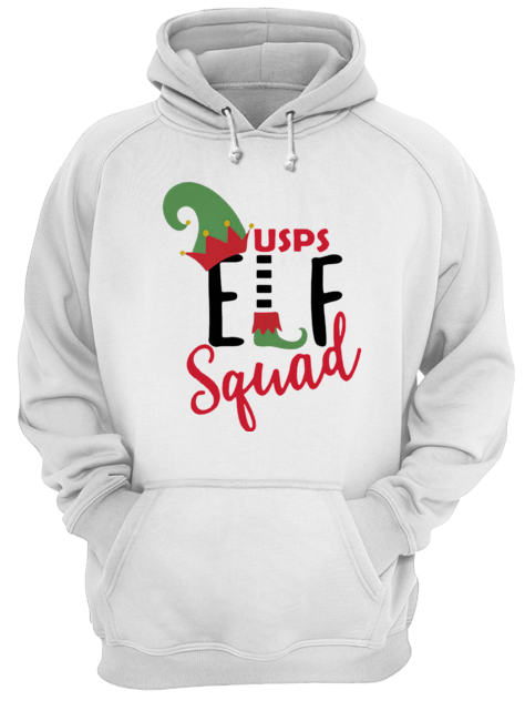 Usps Elf Squad Christmas  Unisex Hoodie