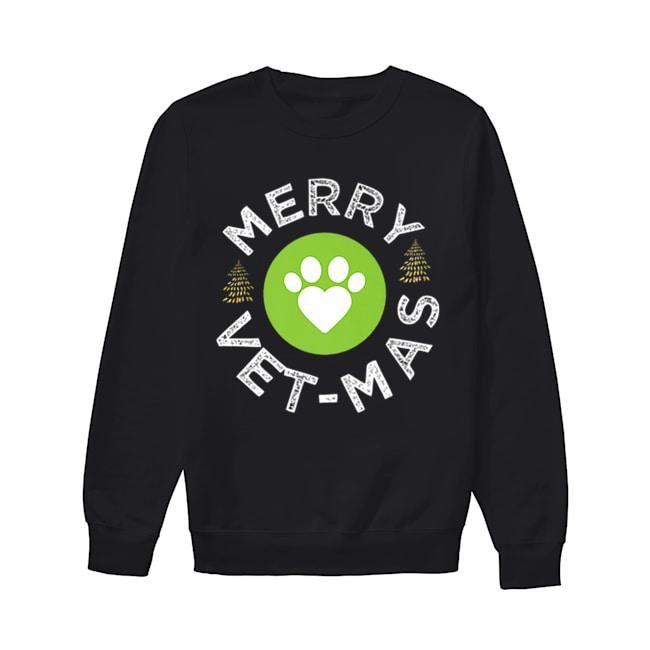 Vet-Mas Christmas Veterinarian Vet Tech Technician  Unisex Sweatshirt