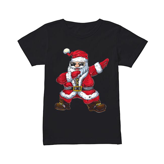 Vintage Santa Claus Dab Christmas Gifts Xmas Dabbing Santa  Classic Women's T-shirt