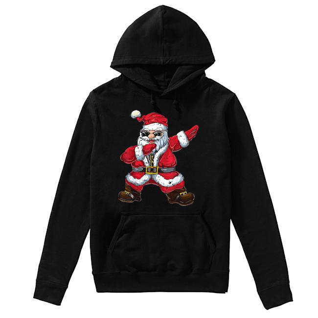 Vintage Santa Claus Dab Christmas Gifts Xmas Dabbing Santa  Unisex Hoodie