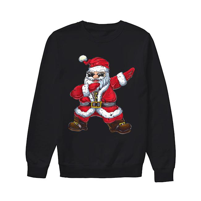Vintage Santa Claus Dab Christmas Gifts Xmas Dabbing Santa  Unisex Sweatshirt