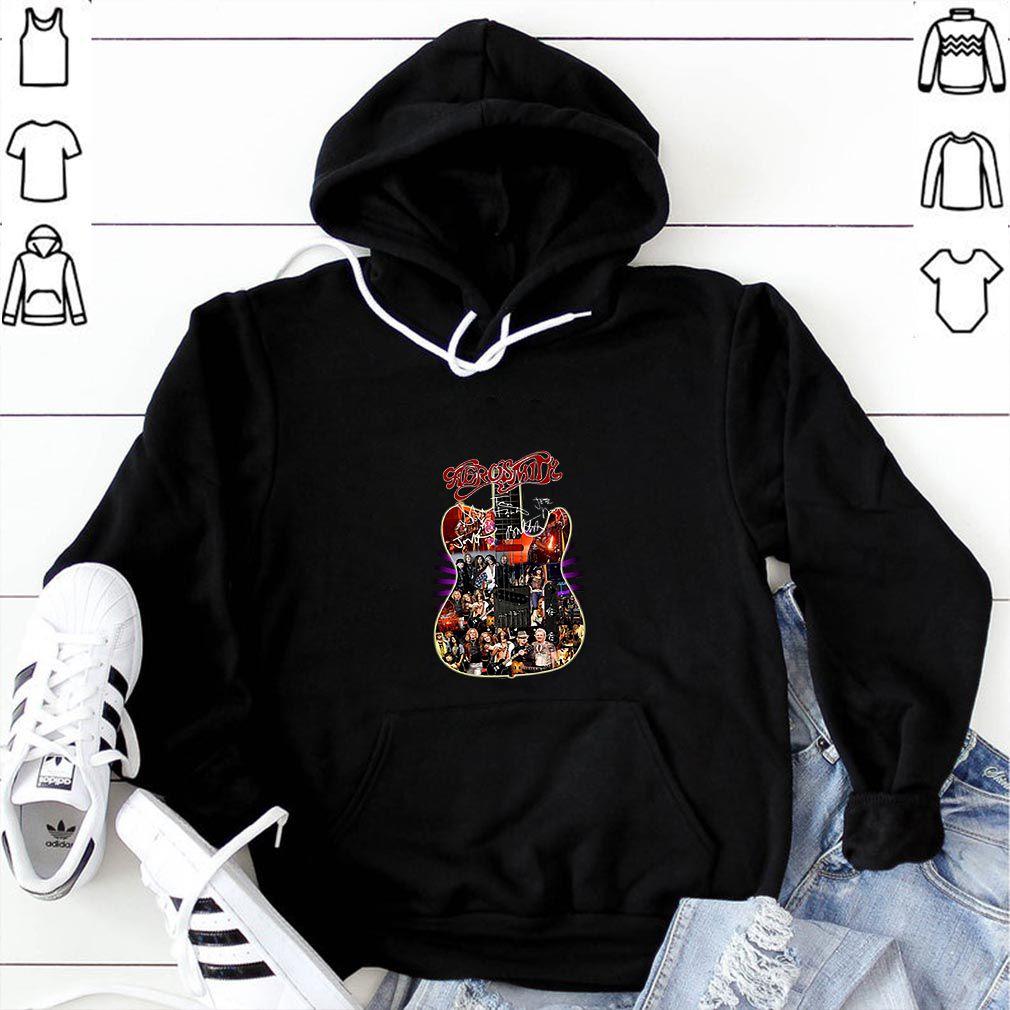 Premium This Is My Christmas Pajama Pug Gift Kid X-mas sweaterAerosmith guitar all signature shirt