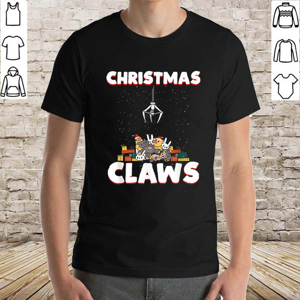 Official Christmas Claws Machine Lover Toy Crane Xmas Games Costume sweater