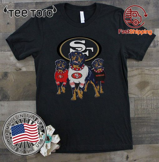 Rottweiler San Francisco 49ers 2020 T-Shirt