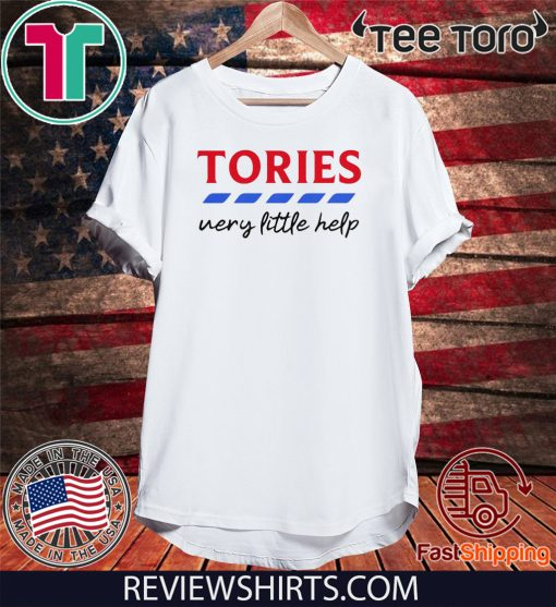 Tories British Political Parties very little help Unisex T-Shirt