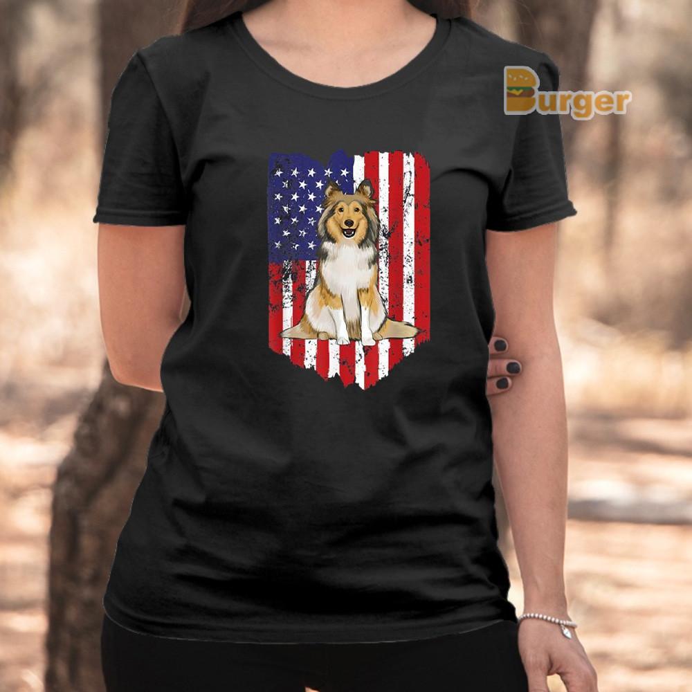 Shetland Sheepdog Mama Tee Shirt Cool Long Sleeve Shirt