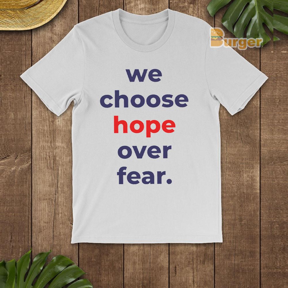Hope Over Fear Joe Biden 2020 Tee Shirt