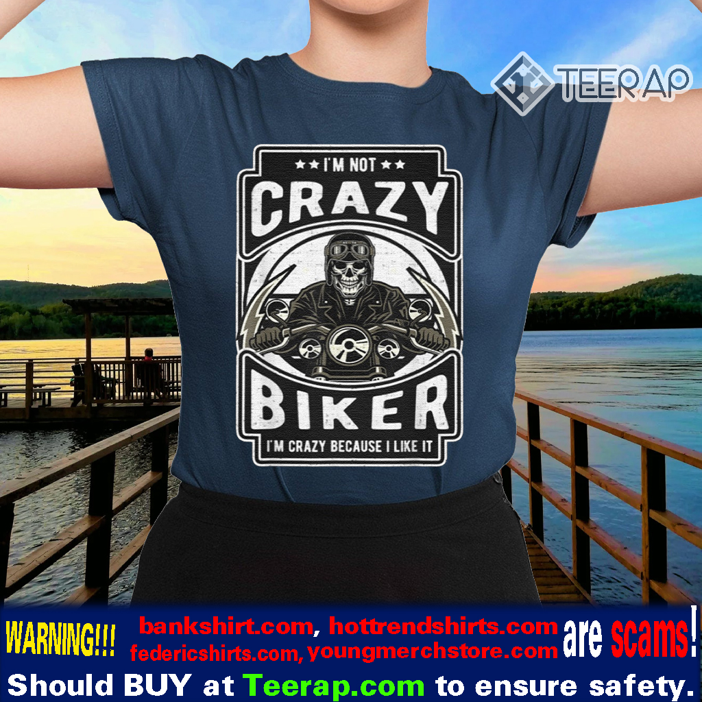 On A Dark Desert Highway Cool Wind In My Hair Motorbike Biker Adult T Shirt