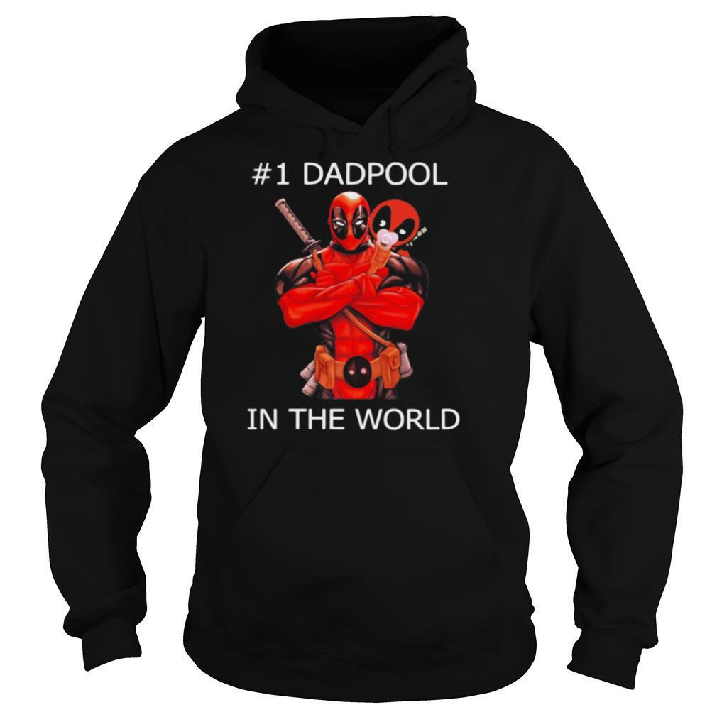 #1 Dadpool in the world shirt