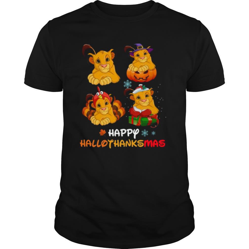 Lions Happy Hallothanksmas shirt