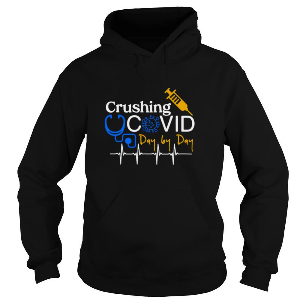 crushing covid day by day shirt