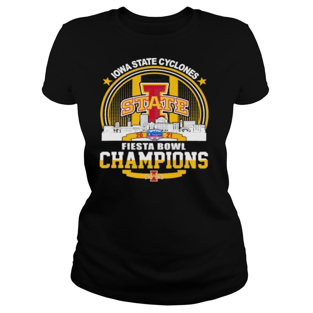 Iowa State Cyclones State Fiesta Bowl Champions 2021 shirt