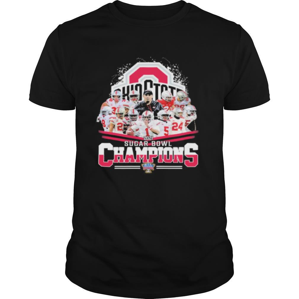 Ohio state buckeyes 2021 sugar bowl champions shirt