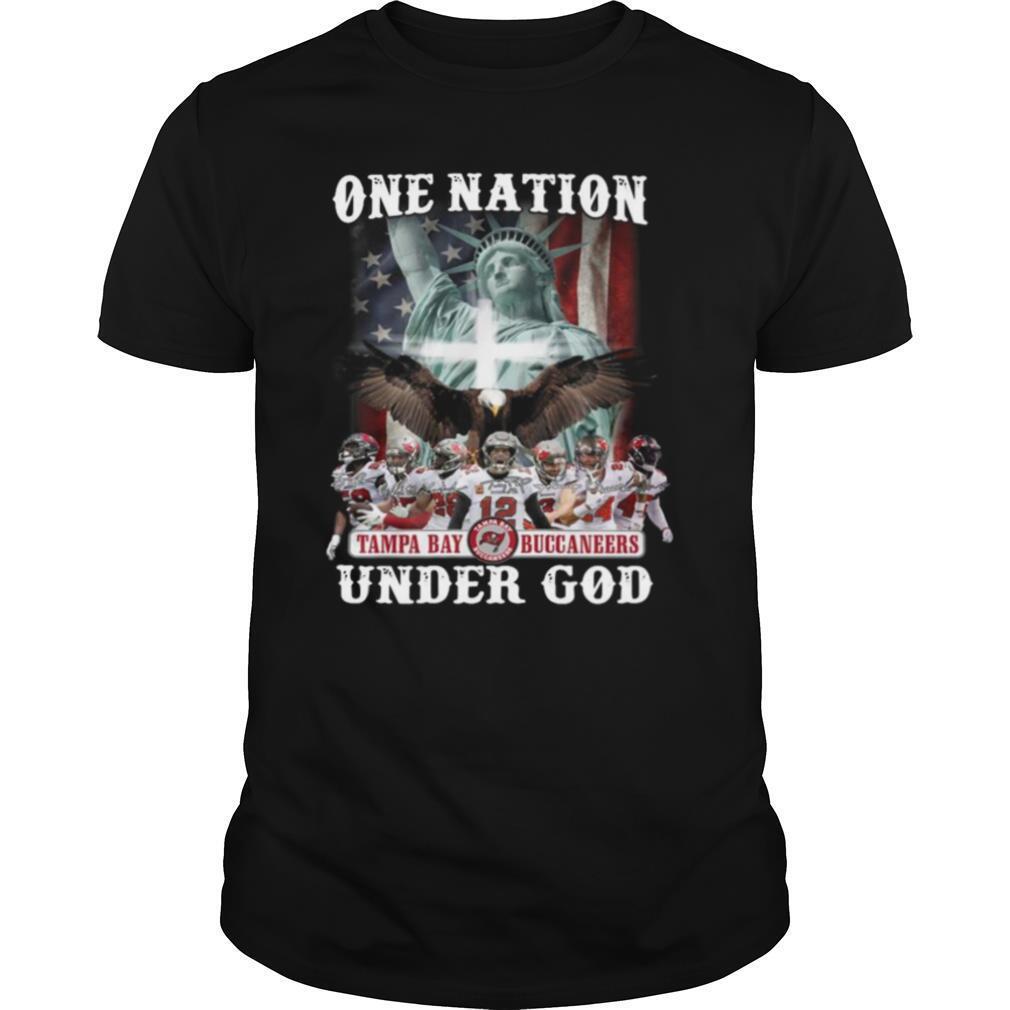 One Nation Tampa Bay Buccaneers Under God 2021 shirt
