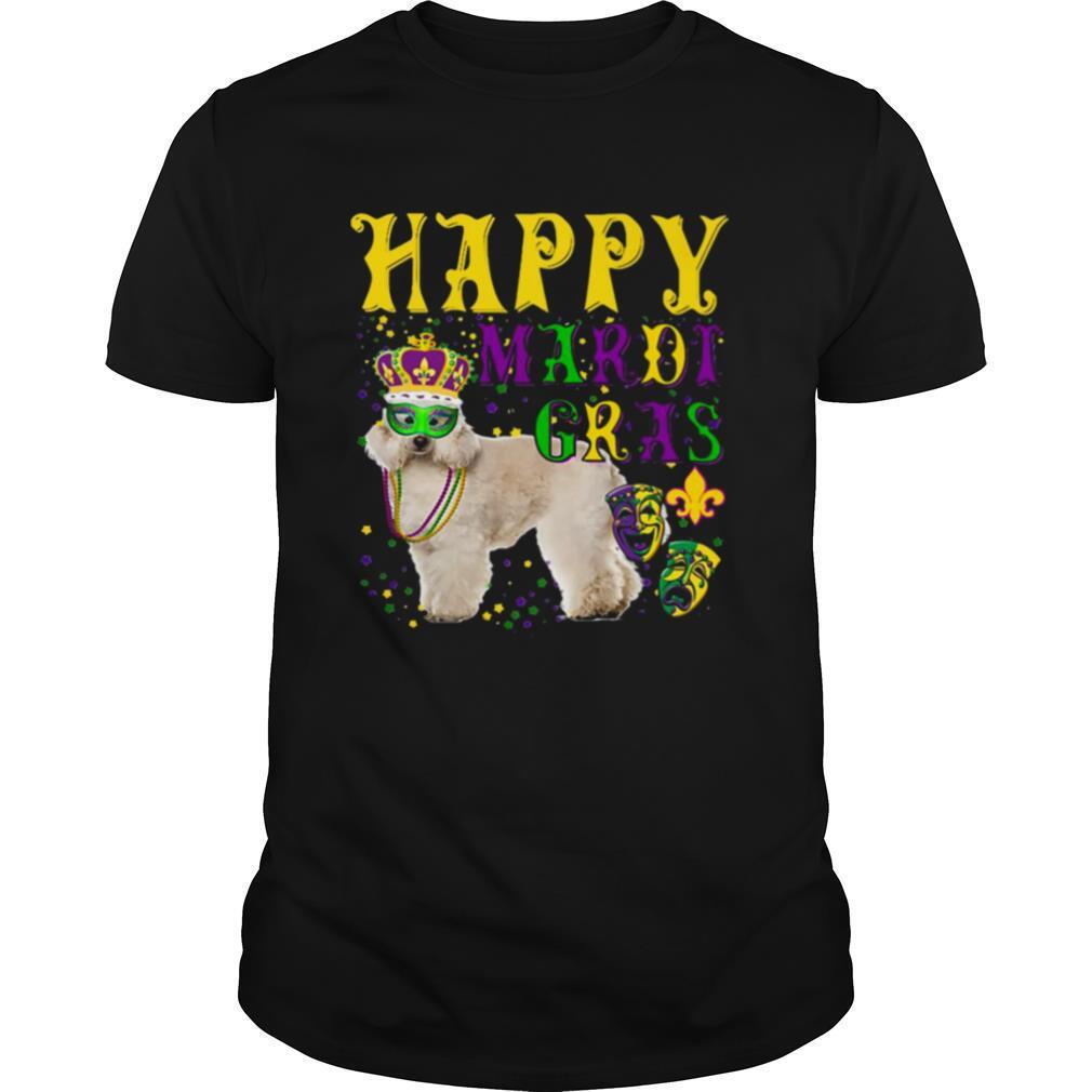 Poodle Dog Mardi Gras shirt