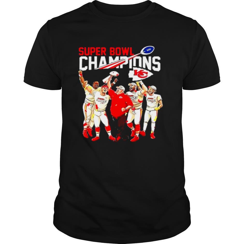 Super Bowl Champions Kansas City Chiefs Afc East Champions 2021 Football shirt