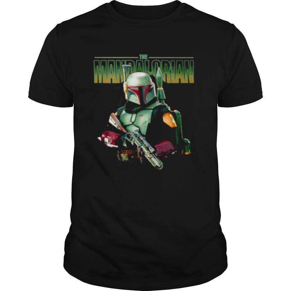 The Mandalorian Hold Gun shirt