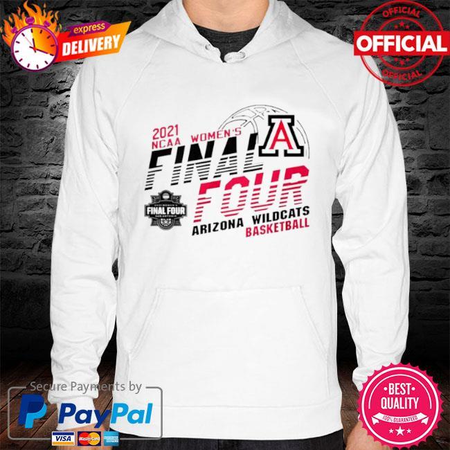 2021 ncaa women's final four arizona wilDcats basketball s hoodie white