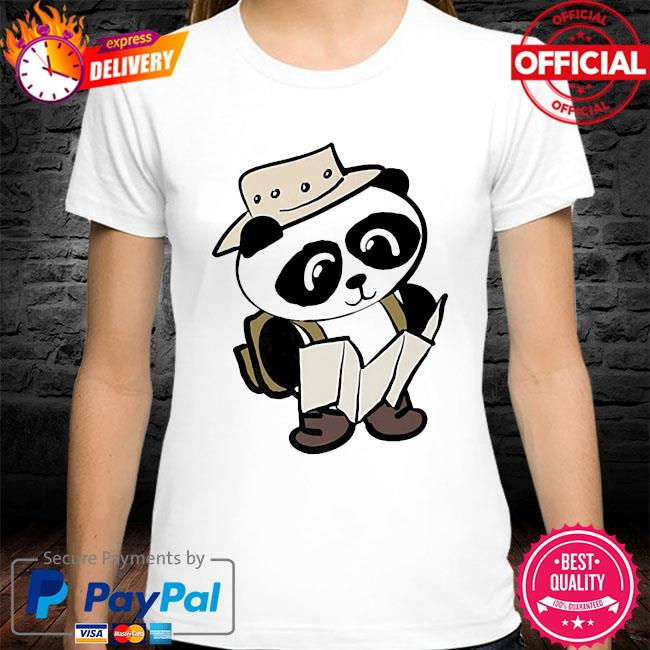 Adventure panda shirt