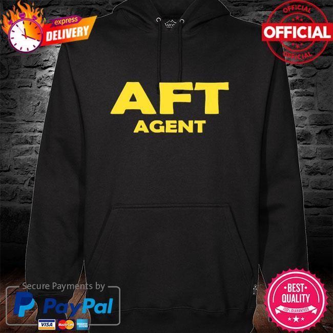 Aft agent hoodie black