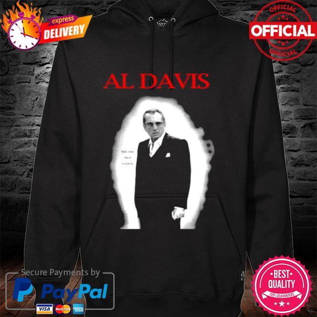 Al davis the one true nation s hoodie black