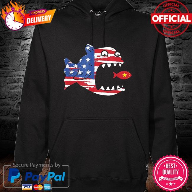 American flag fishing shirt patriotic fishing for freedom s hoodie black