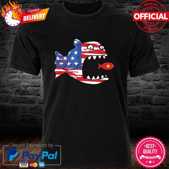 American flag fishing shirt patriotic fishing for freedom shirt